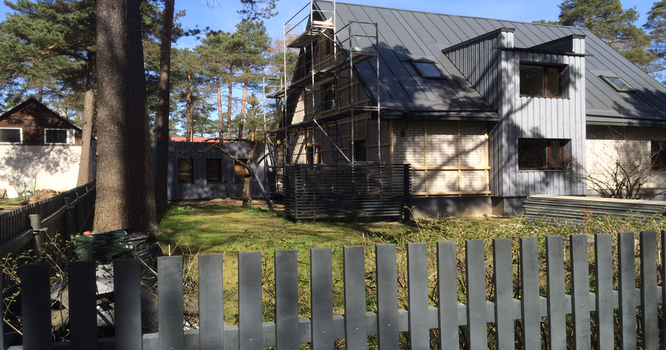 eramaja puifassaadi ehitus